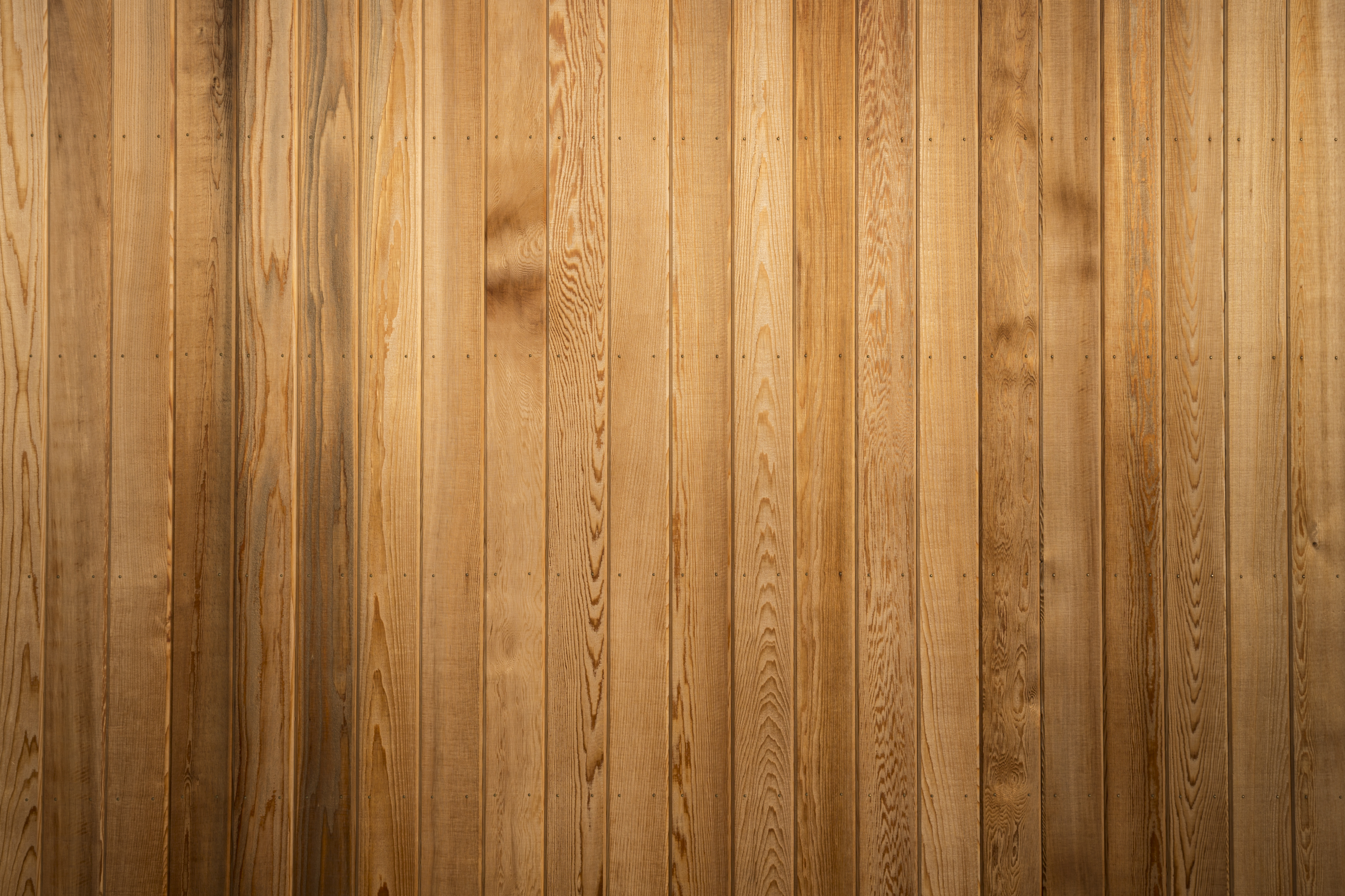 Big Brown Wood Plank Wall Texture Background Bredehoeft