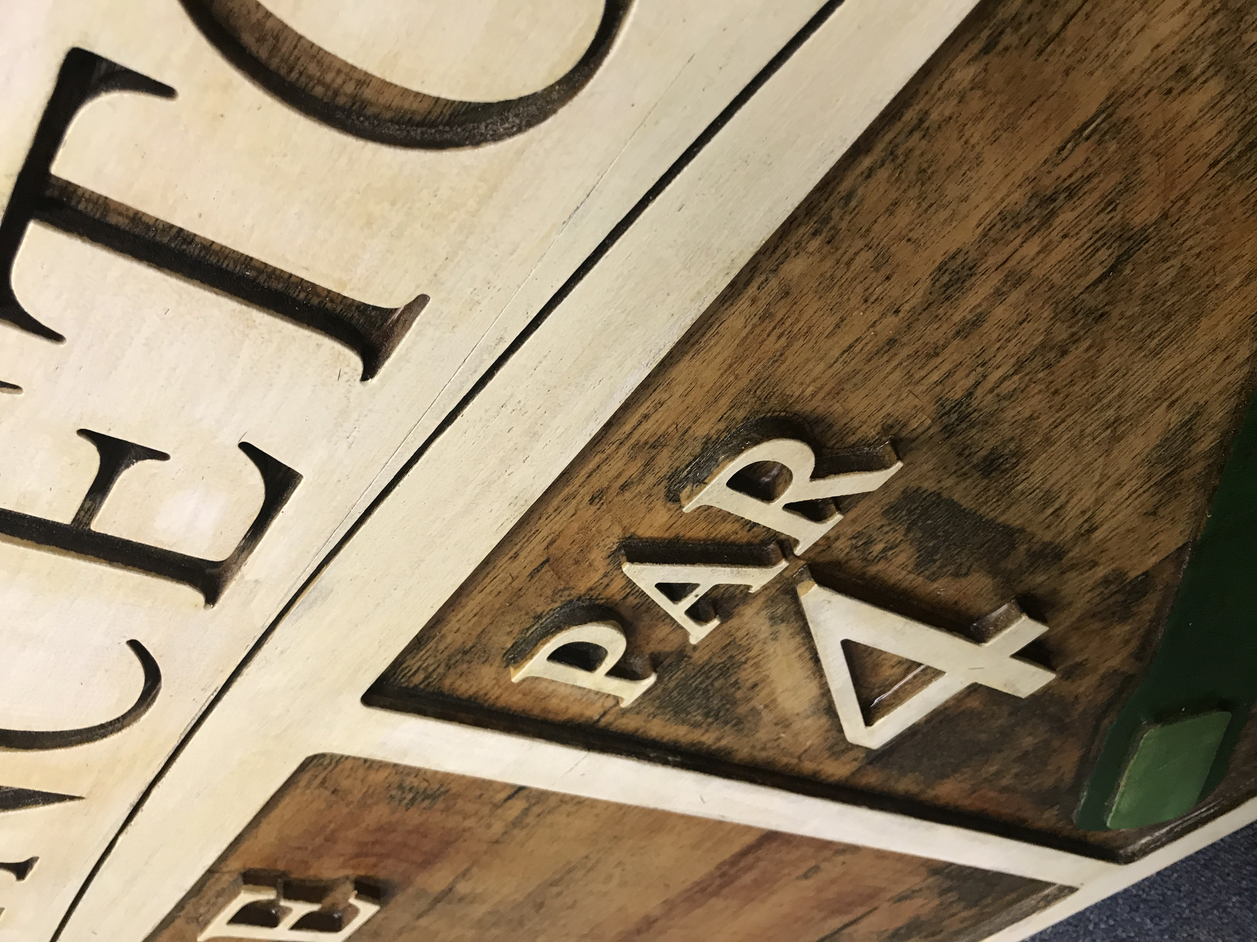 Custom Wood Signs Amp Millwork Bredehoeft Millworks